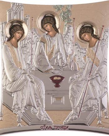 Αγία Τριάδα ασημένια εικόνα - holy icons-agia triada