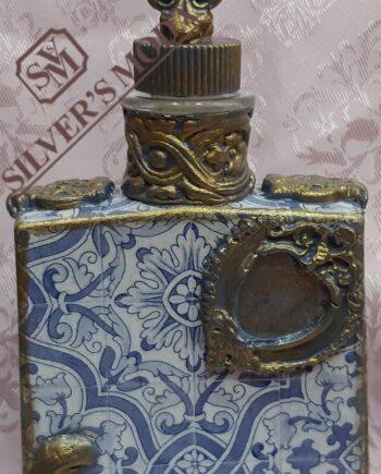 Μπουκάλι decoupage χειροποίητο ντεκουπαζ -handmade bottle decoupage