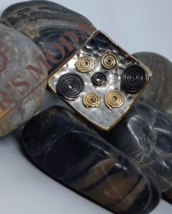 Ασημένιο δαχτυλίδι χειροποίητο-handmade sterling silver ring